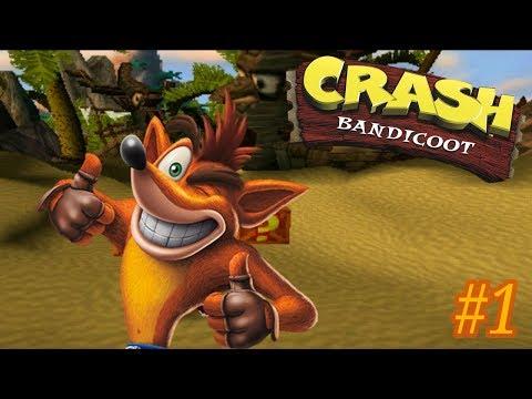 Vamos Jogar Crash Bandicoot: #1