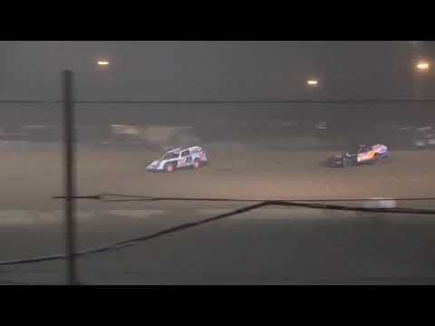 UMP Modified A-Main from Portsmouth Raceway Park, August 7th, 2021. - dirt track racing video image