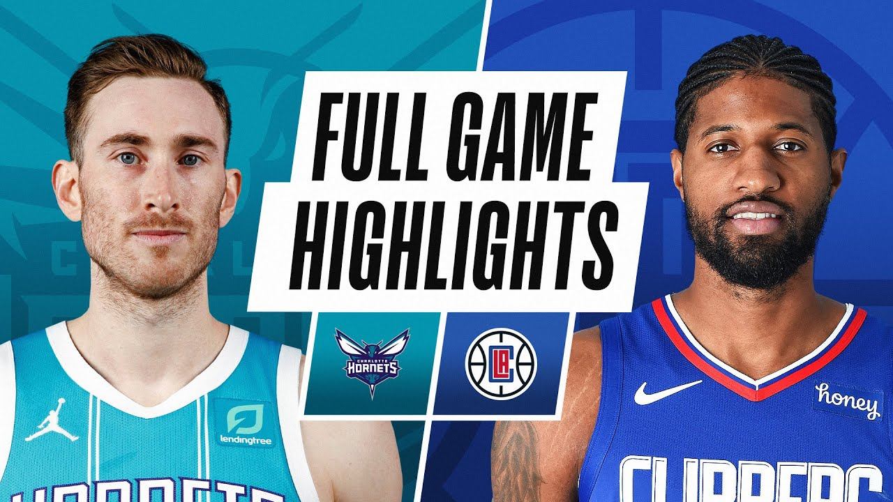 HORNETS at CLIPPERS | FULL GAME HIGHLIGHTS | March 20, 2021