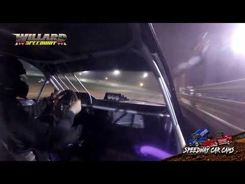 #11K Tyler Kelley - FWD - 8-7-21 Willard Speedway - In-Car Camera - dirt track racing video image