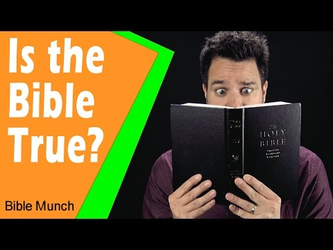 Is the Bible True?    Evidence for the Bible  1 Reason Why I Trust the Bible