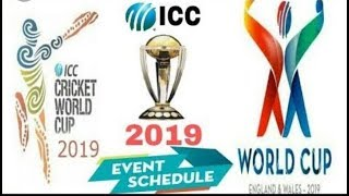 ICC CRICKET WORLD CUP 2019 UPDATE SCHEDULE_TAC Vlogs BD