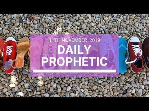 Daily Prophetic 11  November Word 4