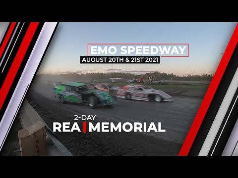2-Day Rea Memorial LIVE from Emo Speedway, August 20th & 21st 2021 - dirt track racing video image