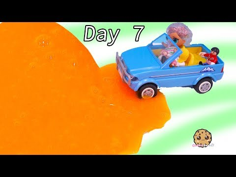 Car Stuck in Slime Trap LOL Surprise & Playmobil Advent Adventure Day 7 - UCelMeixAOTs2OQAAi9wU8-g