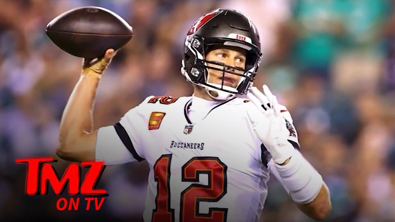 Tom Brady Says He Can 'Literally' Play QB 'Til He's 55 | TMZ TV
