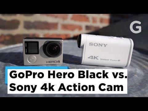 Test Footage: GoPro Hero 4 Black vs Sony 4K Action Cam