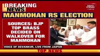 Rajya Sabha Polls: BJP Decides Not to Field Candidate Against Manmohan Singh