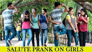 Salute Prank On Girls Part 2 II Funniest Prank 2019 II JSM Brothers