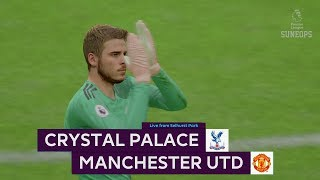 Crystal Palace vs MANCHESTER UNITED - Full Match & Gameplay - FIFA19