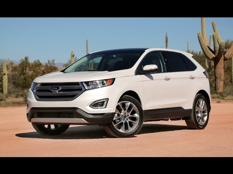 Ford Edge Review First Drive