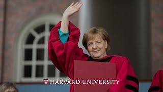 German Chancellor Angela Merkel's address | Harvard Commencement 2019