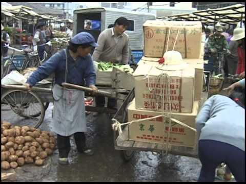 Lijiang, China part 3 of 5: Old Town narrow lanes, hotels, restaurants and open market - UCvW8JzztV3k3W8tohjSNRlw