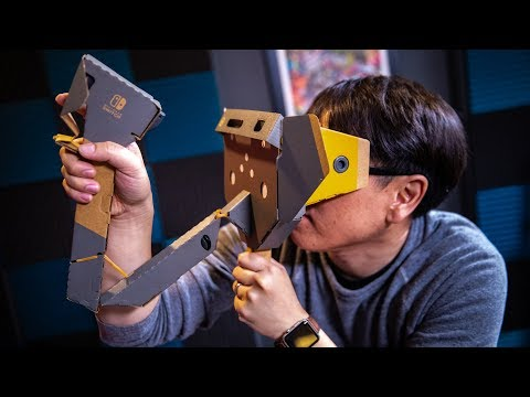 Tested: Nintendo Labo VR Kit Review! - UCiDJtJKMICpb9B1qf7qjEOA