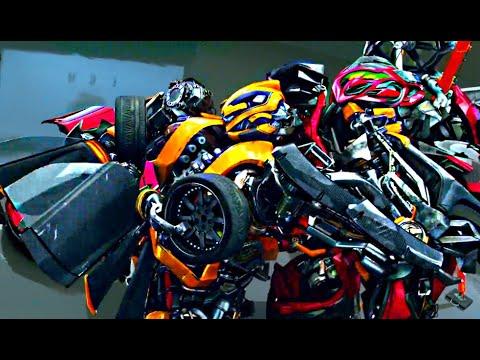Transformers Age of Extinction - Bumblebee meets Stinger Scene (1080pHD VO) - UCawyjddiOx7rak6HnB2xGOw
