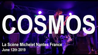 Cosmos Live Full Concert 4K @ La scène Michelet Nantes France June 12th 2019