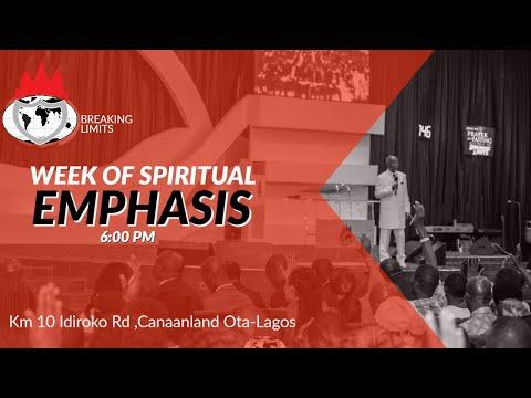 DOMI STREAM: DAY 2  WEEK OF SPIRITUAL EMPHASIS  5, MARCH. 2020