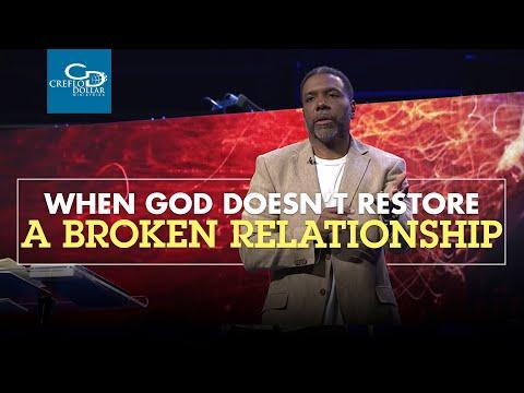 When God Doesn't Restore a Broken Relationship