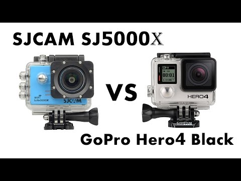SJCAM SJ5000X (2K) VS GoPro Hero4 Black Edition (2.7K)