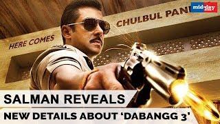 Dabangg 3 Details Revealed By Salman Khan | Sonakshi Sinha | Prabhudeva