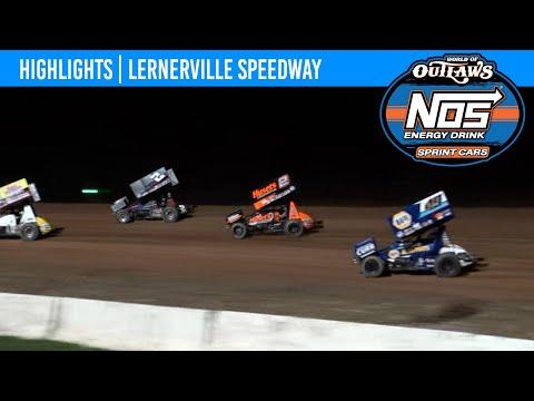 World of Outlaws NOS Energy Drink Sprint Cars Lernerville Speedway, September 25, 2021   HIGHLIGHTS - dirt track racing video image