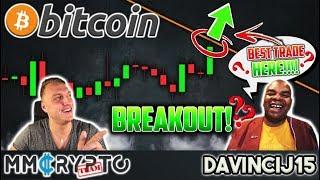 DavinciJ15 - Bitcoin BREAKOUT Imminent NOW!! BEST Bitcoin Trade HERE!!