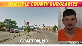 Grafton Man Charged In Multi-County Burglary Spree
