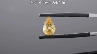 Bright Golden Yellow Chinese Scheelite Gemstone from KGC