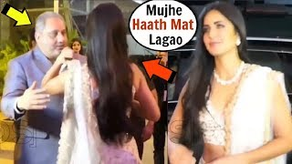 Katrina Kaif ANGRY On BusinessMan For Trying To HUG Her In FRONT Of Media INSIDE Video