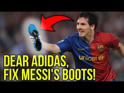WHY ARE MESSI'S FOOTBALL BOOTS SO UGLY? - UCUU3lMXc6iDrQw4eZen8COQ