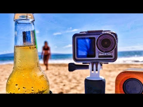 DJI OSMO ACTION Cam Review - Unboxing, Updating & Beach Torture Test (GoPro Killer!?) - UCVQWy-DTLpRqnuA17WZkjRQ