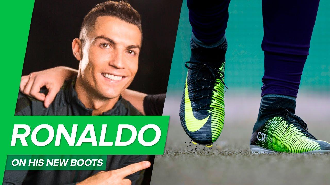 new styles 169a9 caa86 Cristiano Ronaldo on his new CR7 boots: