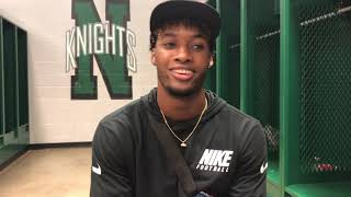 Denzel Ward discusses Make Them Know Your Name foundation
