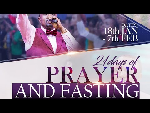 Prayer and Fasting Day 8 With  JCC Parklands Live Service - 25th Jan 2021.