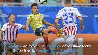 Colombia derrota a 1-0 a Paraguay y avanza a cuartos con marca perfecta | AFP