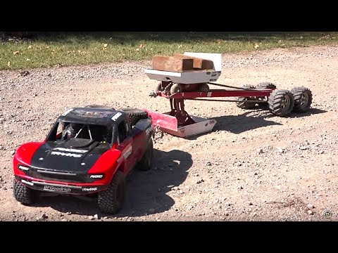 TRAXXAS UDR PULLS the JUDGE! Weight Sled - 30 FT Tractor Pull   RC ADVENTURES - UCxcjVHL-2o3D6Q9esu05a1Q