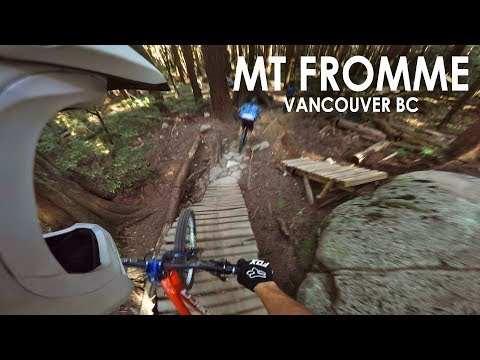 AMAZING DAY Freeriding North Shore | Mt Fromme | With Seth's Bike Hacks & BKXC