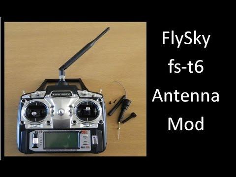 FlySky fs t6 Antenna Mod - UCHqwzhcFOsoFFh33Uy8rAgQ
