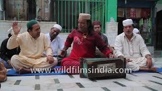 Heritage walk in Mehrauli | Qawwali at Dargah Hazrat Khwaja Qutubuddin Bakhtiyar Kaki | Part 1