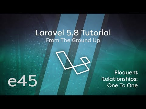 Laravel 5 8 Tutorial From Scratch - e45 - Eloquent