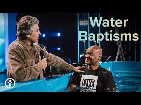 Water Baptisms with Pastor Jentezen Franklin