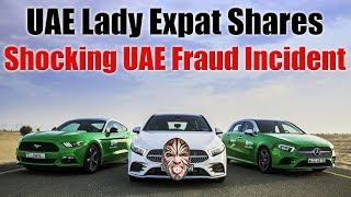 UAE Expat Lady Confesses Shocking UAE Fraud Incident