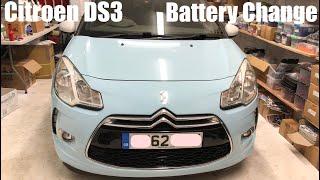 Cambio batteria Citroen DS3 da 2010
