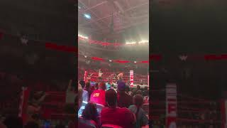 Triple Threat Tag Team Match Monday Night Raw SAP Center.