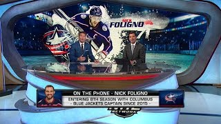 NHL Tonight:  Nick Foligno on visit Browns practice, offseason losses  Aug 21,  2019