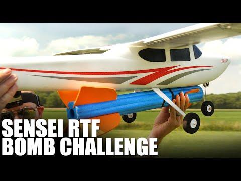 Flite Test | Flyzone Sensei FS RTF - BOMB CHALLENGE! - UC9zTuyWffK9ckEz1216noAw