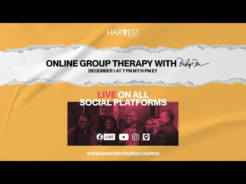 Online Group Therapy - Bishop Kevin Foreman
