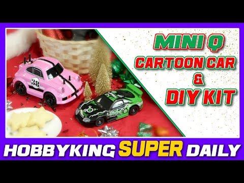 1/24 Mini Q Cartoon Car and DIY Kit - HobbyKing Super Daily - UCkNMDHVq-_6aJEh2uRBbRmw
