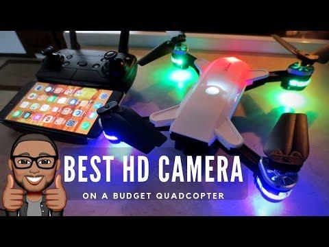 JDRC JD-20 Review - DJI Spark Clone - Best HD Camera on a Budget Drone - UCMFvn0Rcm5H7B2SGnt5biQw