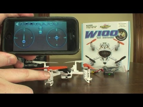 Walkera QR W100S WiFi FPV - Review and Flight - UCe7miXM-dRJs9nqaJ_7-Qww